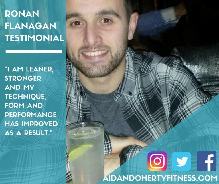 Ronan Flanagan Testimonial