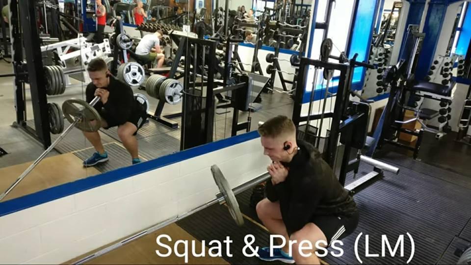 Squat & Press (LM)